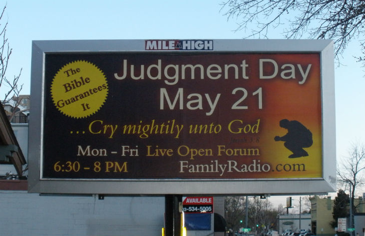 Judgment Day Billboard