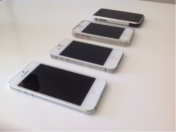 A Collection of iPhones