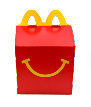 McDonald's Happy Meal Box