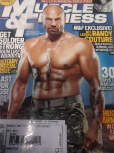 Randy Courture on Magazine