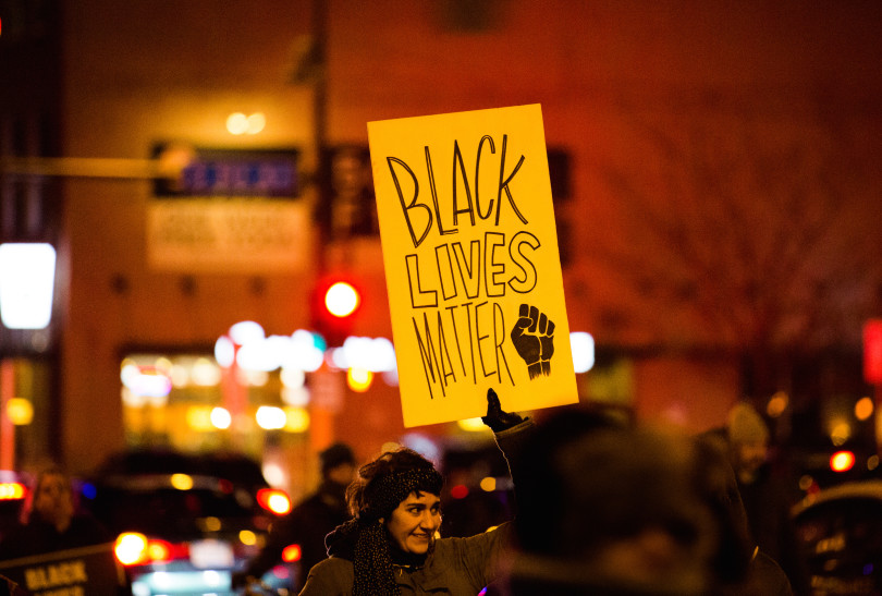 Black Lives Matter - Downtown Minneapolis