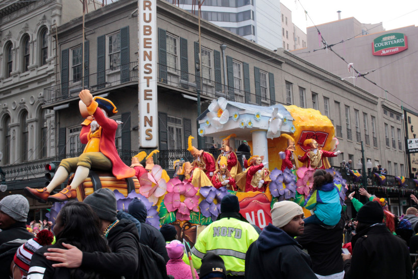 Mardi Gras Photo by Mike Connor
