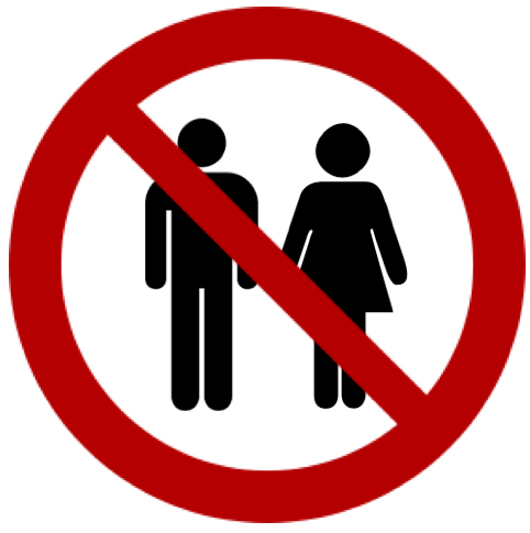 Male Female - No Symbol