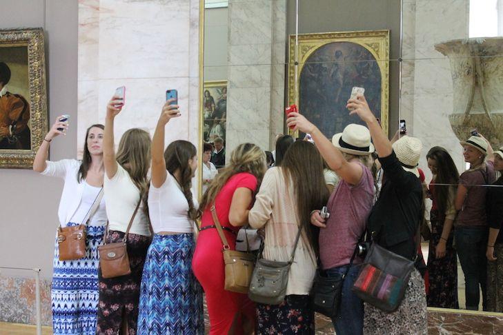 Selfie at Museum