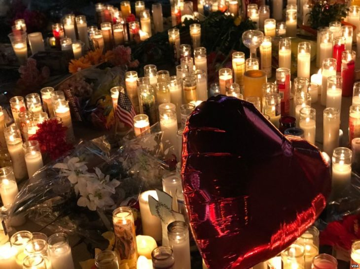 Memorial for Victims of Las Vegas Shooting
